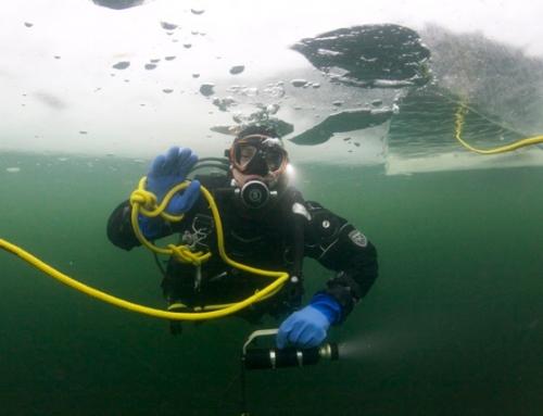 ICE diving mokymai