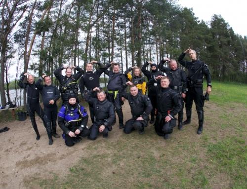 Klubo išvyka į Lenkiją prie Hancza ežero